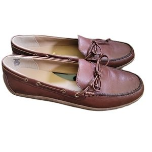 Land's End Leather Loafers Size 9 NEW
